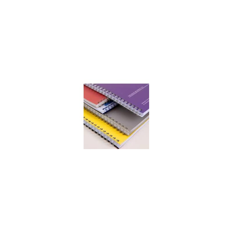 Wire-O brochure A-4 colour, 0% VAT rated