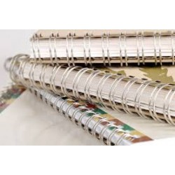 Wire-O brochure A-3 colour, 0% VAT rated