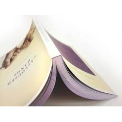 A-5 landscape colour perfect binding 20% VAT rated